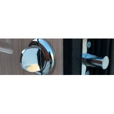 Врезка ночной задвижки для двери